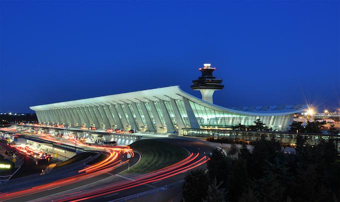 Dulles International Airport, Chantilly, Virginia (1962) by Eero Saarinen MUST-SEE: TOP 10 BUILDINGS IN AMERICA THAT CHANGED THE HISTORY  MUST-SEE: TOP 10 BUILDINGS IN AMERICA THAT CHANGED THE HISTORY Dulles International Airport Chantilly Virginia 1962 by Eero Saarinen