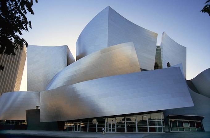 Walt Disney Concert Hall, Los Angeles (2003) by Frank Gehry MUST-SEE: TOP 10 BUILDINGS IN AMERICA THAT CHANGED THE HISTORY  MUST-SEE: TOP 10 BUILDINGS IN AMERICA THAT CHANGED THE HISTORY Walt Disney Concert Hall Los Angeles 2003 by Frank Gehry