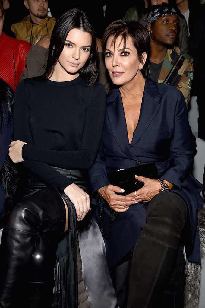 kendall-jenner-and-kris-jenner New York Fashion Week Front Rows New York Fashion Week Front Rows kendall jenner and kris jenner