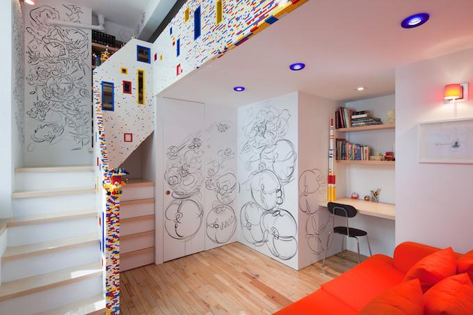 5 The 20,000-Brick Apartment in New York, NY The 20,000-Brick Apartment in New York, NY 51