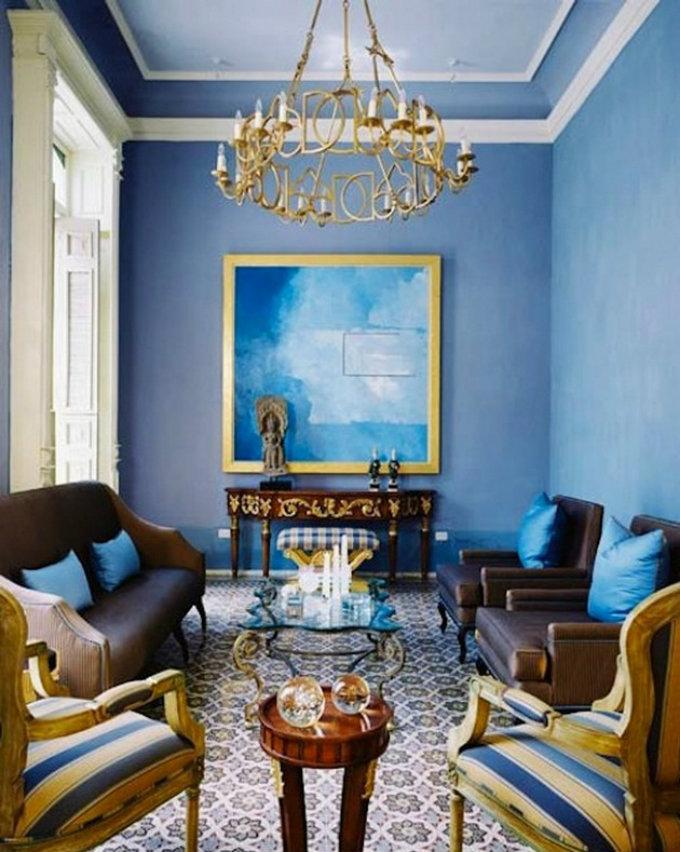 Amazing Living Room Designs: 15 Amazing Blue Living Rooms