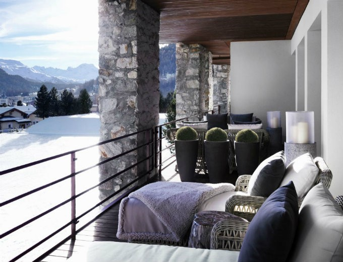 Kelly Hoppen- Chalet at Switzerland